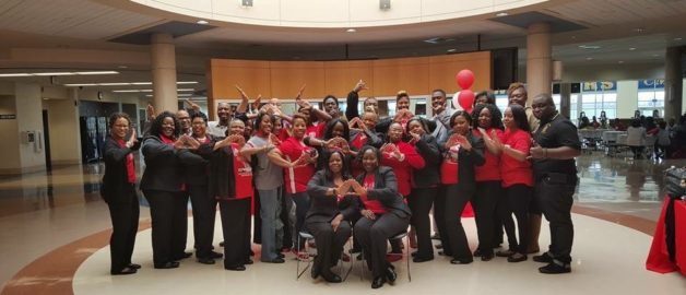 Theta Mu Lambda Partners With Women of Delta Sigma Theta Sorority Inc.
