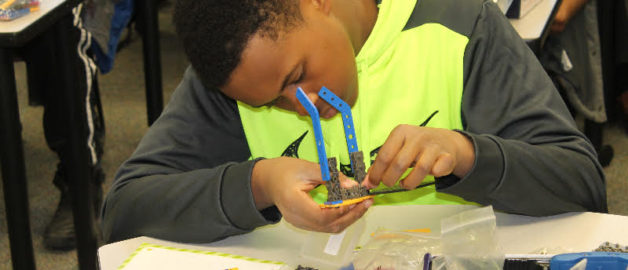 Leaders for Tomorrow participants learn about STEM through the use of Robotics